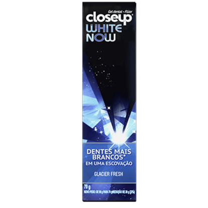 Imagem de Creme dental branqueador close-up 70g white now glacier fresh