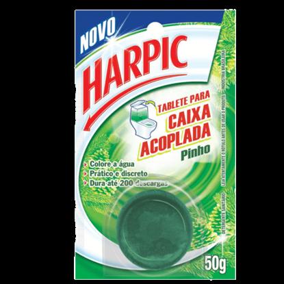 Imagem de Bloco sanitário caixa acoplada harpic 50g verde