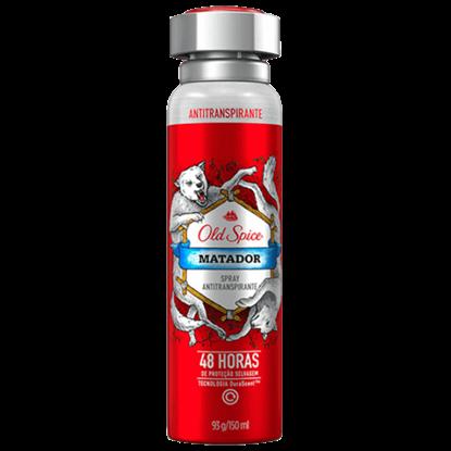 Imagem de Desodorante aerosol old spice 150ml matador