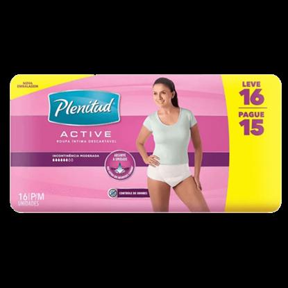 Imagem de Fralda geriátrica plenitud l16p15 active feminina p/m