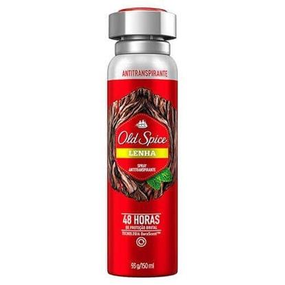 Imagem de Desodorante aerosol old spice 150ml lenha