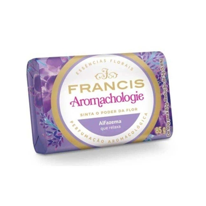 Imagem de Sabonete em barra uso diário francis 85g lilas suave
