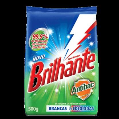 Imagem de Detergente em pó brilhante 500g antibac