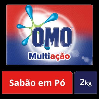 Imagem de Detergente em pó omo 2kg multiação