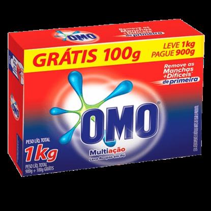 Imagem de Detergente em pó omo l1kgp900g multiação