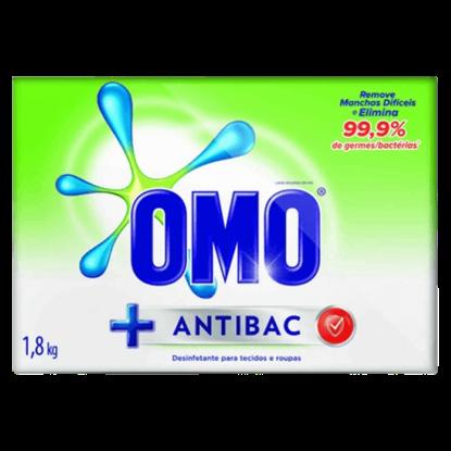Imagem de Detergente em pó omo 1,8kg antibac