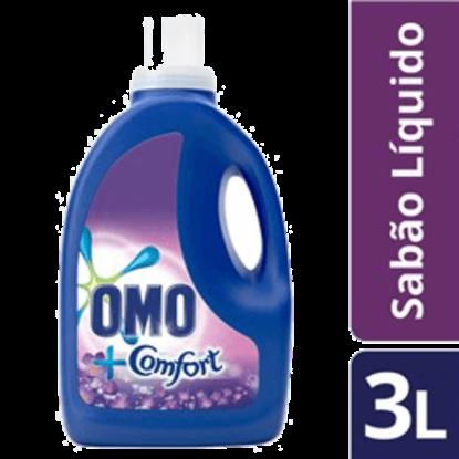 Imagem de Lava-roupas líquido omo 3l toque de comfort lilás