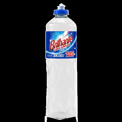 Imagem de Detergente líquido brilhante 500ml clear
