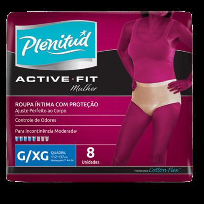 Imagem de Fralda geriátrica plenitud active feminina g/xg