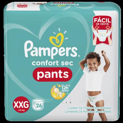 Imagem de Fralda infantil pampers pants c/26 confort sec xxg pc