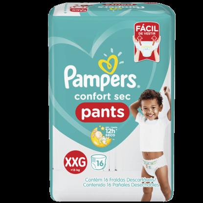 Imagem de Fralda infantil pampers pants c/16 confort sec xxg pc