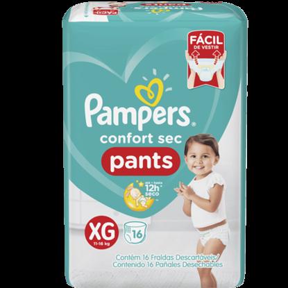 Imagem de Fralda infantil pampers pants c/16 confort sec xg pc