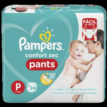 Imagem de Fralda infantil pampers pants c/24 confort sec pq pc