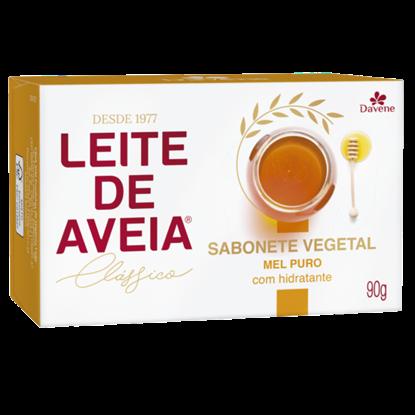 Imagem de Sabonete em barra uso diário davene 90g leite de aveia mel puro