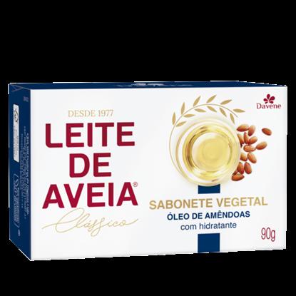 Imagem de Sabonete em barra uso diário davene 90g leite de aveia amendoas