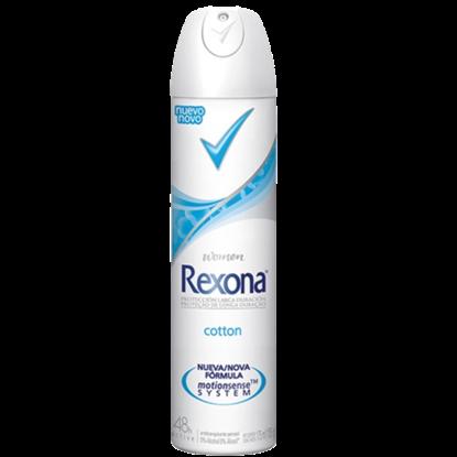 Imagem de Desodorante aerosol rexona 150ml fem cotton