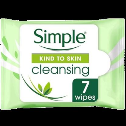 Imagem de Lenço umedecido demaquilante simple c/7 cleansing