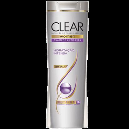 Imagem de Shampoo anti caspa clear 200ml hidratação intensa