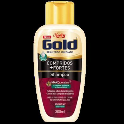Imagem de Shampoo uso diário niely gold 300ml compridos+fortes