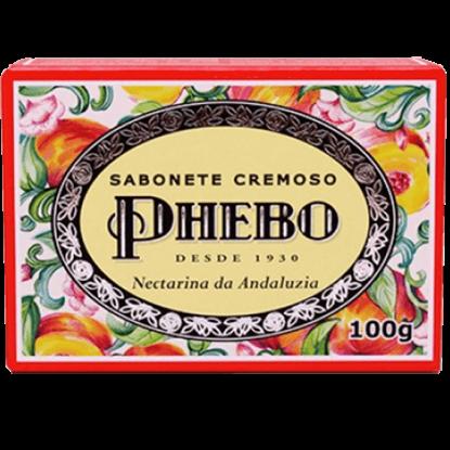 Imagem de Sabonete em barra uso diário phebo 100g nectarina da andaluzia
