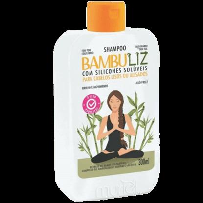 Imagem de Shampoo uso diário bambuliz 300ml lisos e alisados