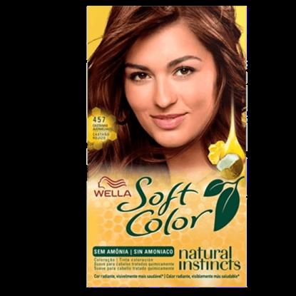Imagem de Tintura semi permanente soft color 457 castanho avermelhado