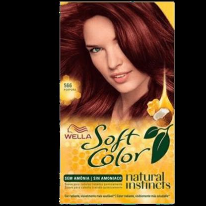 Imagem de Tintura semi permanente soft color 566 purpura