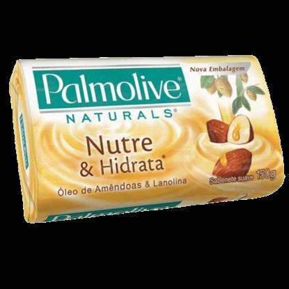 Imagem de Sabonete em barra uso diário palmolive 150g lanonila e óleo de amendia