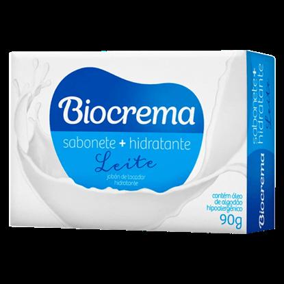 Imagem de Sabonete em barra perfumado biocrema 90g leite