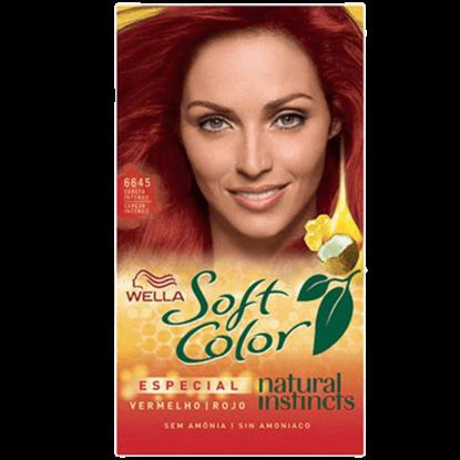 Imagem de Tintura semi permanente soft color 6645 cereja intenso