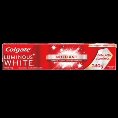 Imagem de Creme dental terapeutico colgate 140g luminous white brilhante