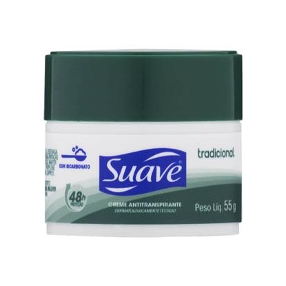 Imagem de Desodorante em creme suave 55g feminino tradicional