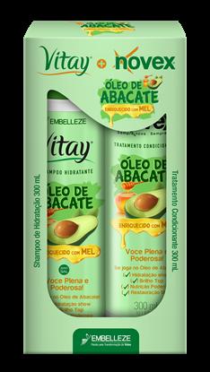 Imagem de Kit sh + co novex 300ml óleo de abacate