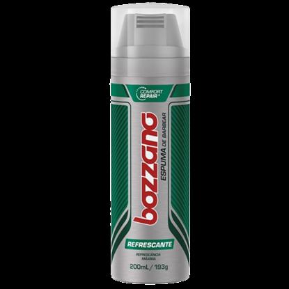 Imagem de Espuma de barbear em tubo bozzano 190g refrescância máxima