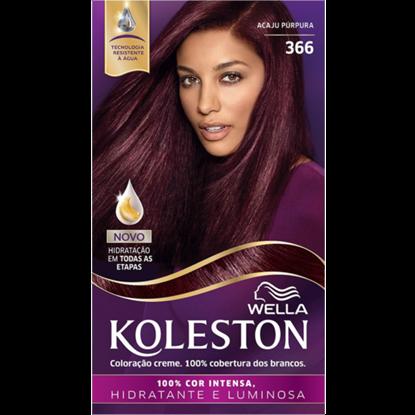 Imagem de Tintura permanente koleston 366 acajú púrpura