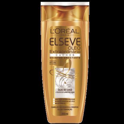Imagem de Shampoo uso diário elséve 200ml óleo extraordinário cachos