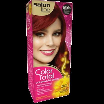 Imagem de Tintura permanente color total 66.64 vermelho glamour