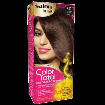 Imagem de Tintura permanente color total 5.0 castanho claro
