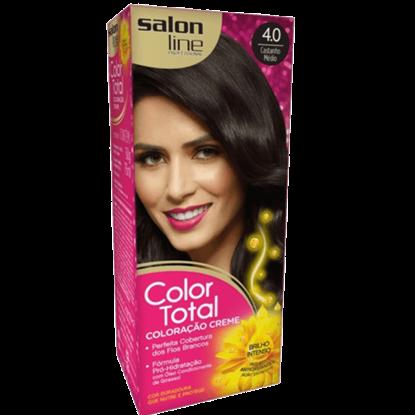 Imagem de Tintura permanente color total 4.0 castanho médio