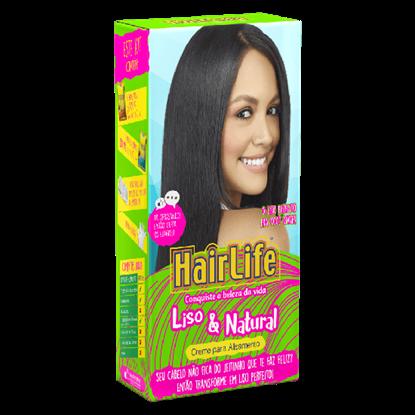 Imagem de Alisante capilar hair life 160g liso natural