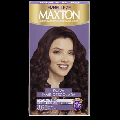 Imagem de Tintura permanente maxton 3.66 púrpura