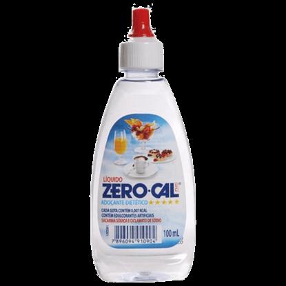 Imagem de Adoçante líquido zero cal 100ml ciclamato