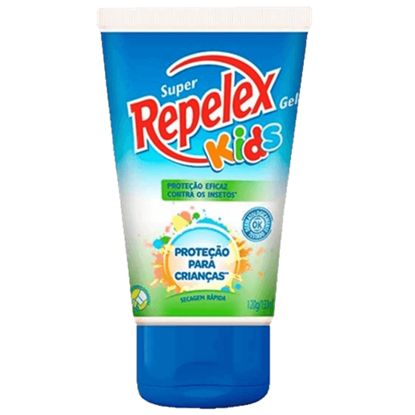 Imagem de Repelente gel repelex 133ml kids