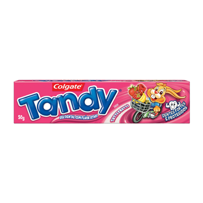 Imagem de Creme dental gel tandy 50g tutti frutti