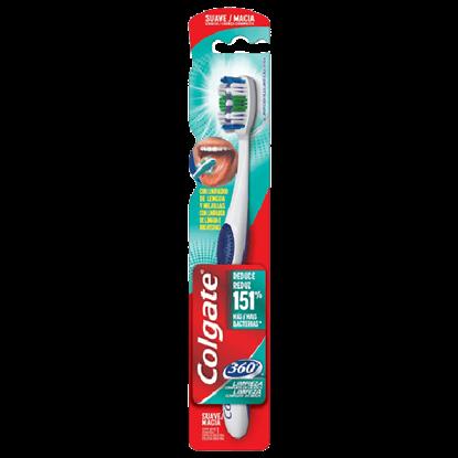 Imagem de Escova dental macia colgate 360