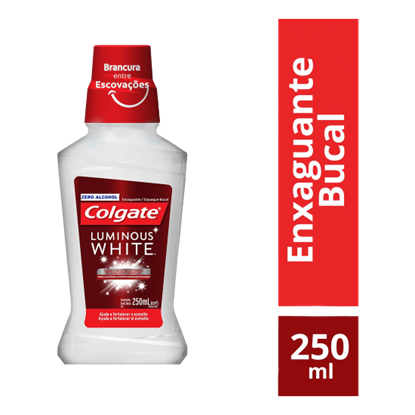 Imagem de Enxaguatório antisséptico colgate 250ml luminous white xd