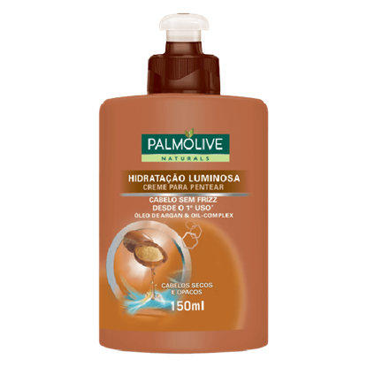 Imagem de Creme para pentear palmolive 150ml óleo de argan