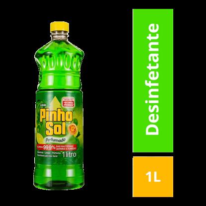 Imagem de Desinfetante líquido pinho sol 1l citrus limão
