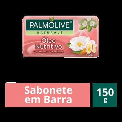 Imagem de Sabonete em barra uso diário palmolive 85g óleo de amêndoa