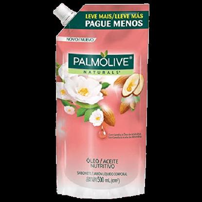 Imagem de Sabonete líquido uso diário palmolive 500ml camélia refil